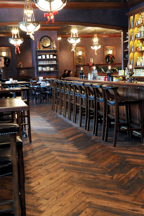commercial bar flooring