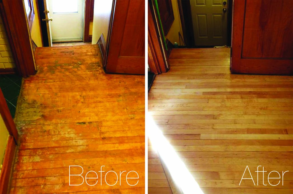 Wood Floor & Flooring Refinishing