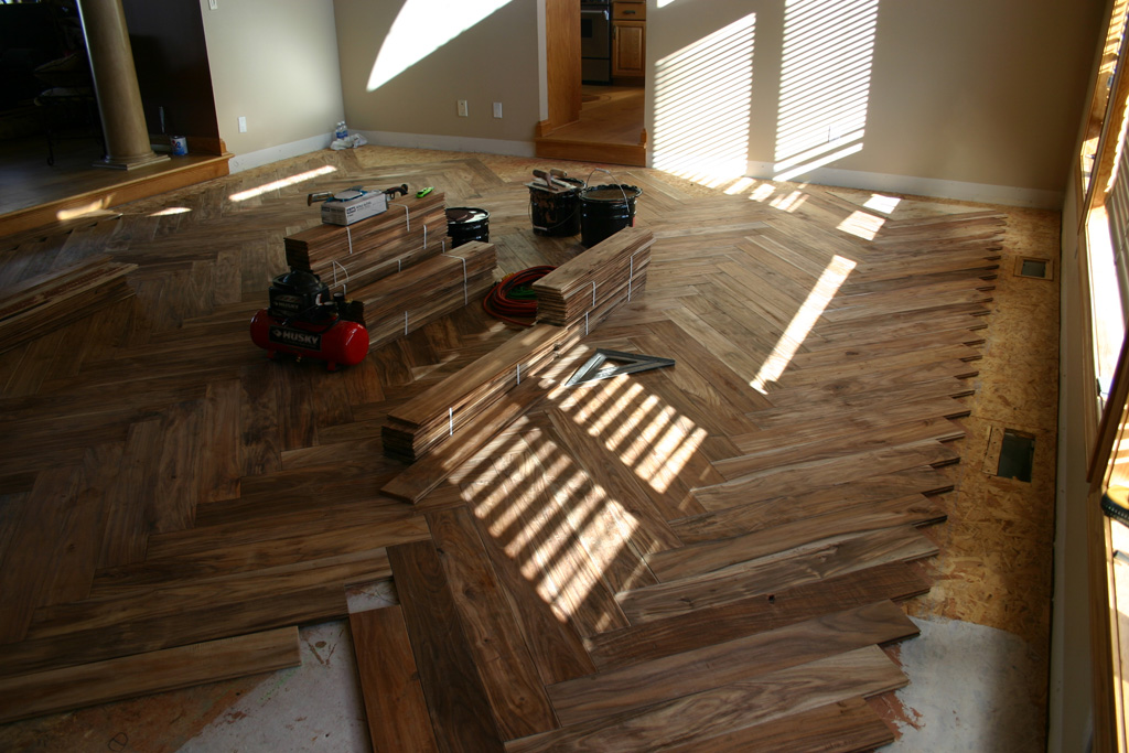 New residential construction flooring installation for Residential flooring installation