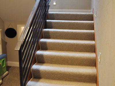 Hardwood Stair Treads Staircasing Installation Milwaukee Wi